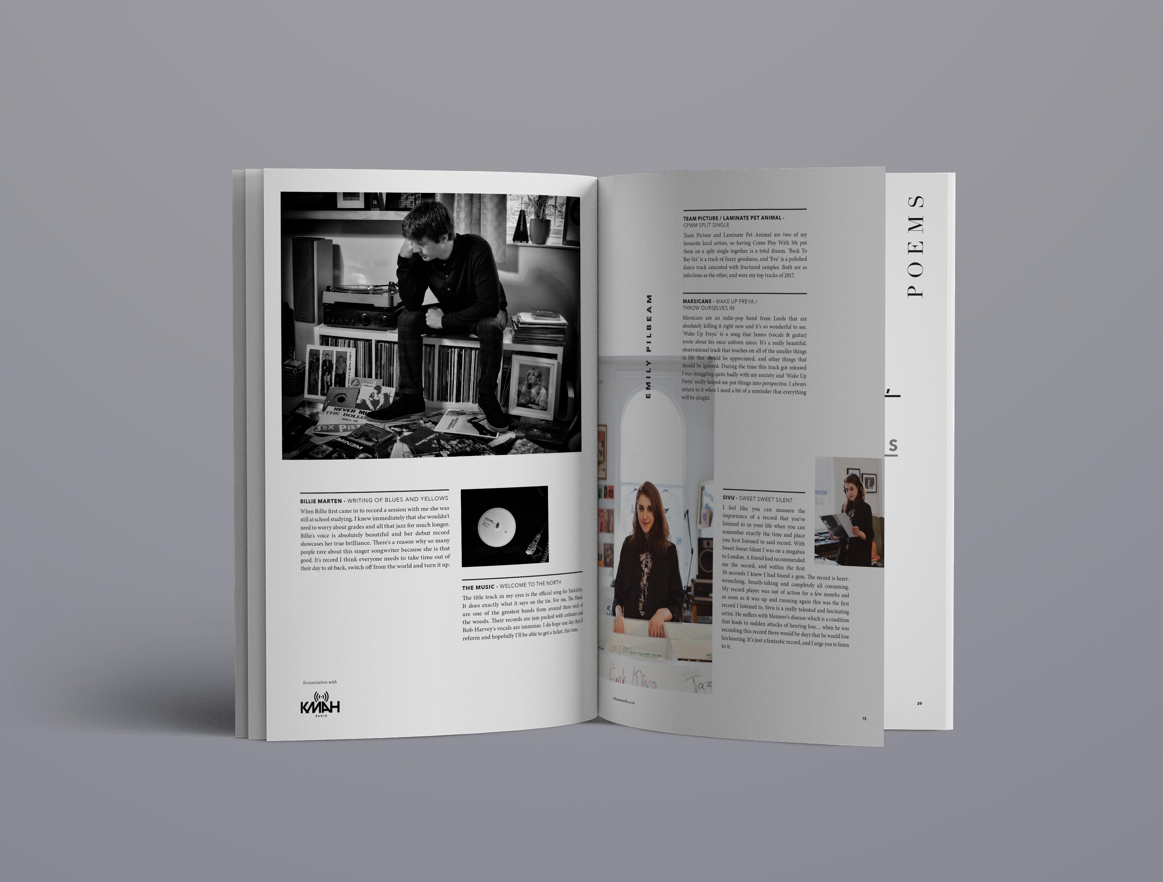 Magazine design, York, Leeds